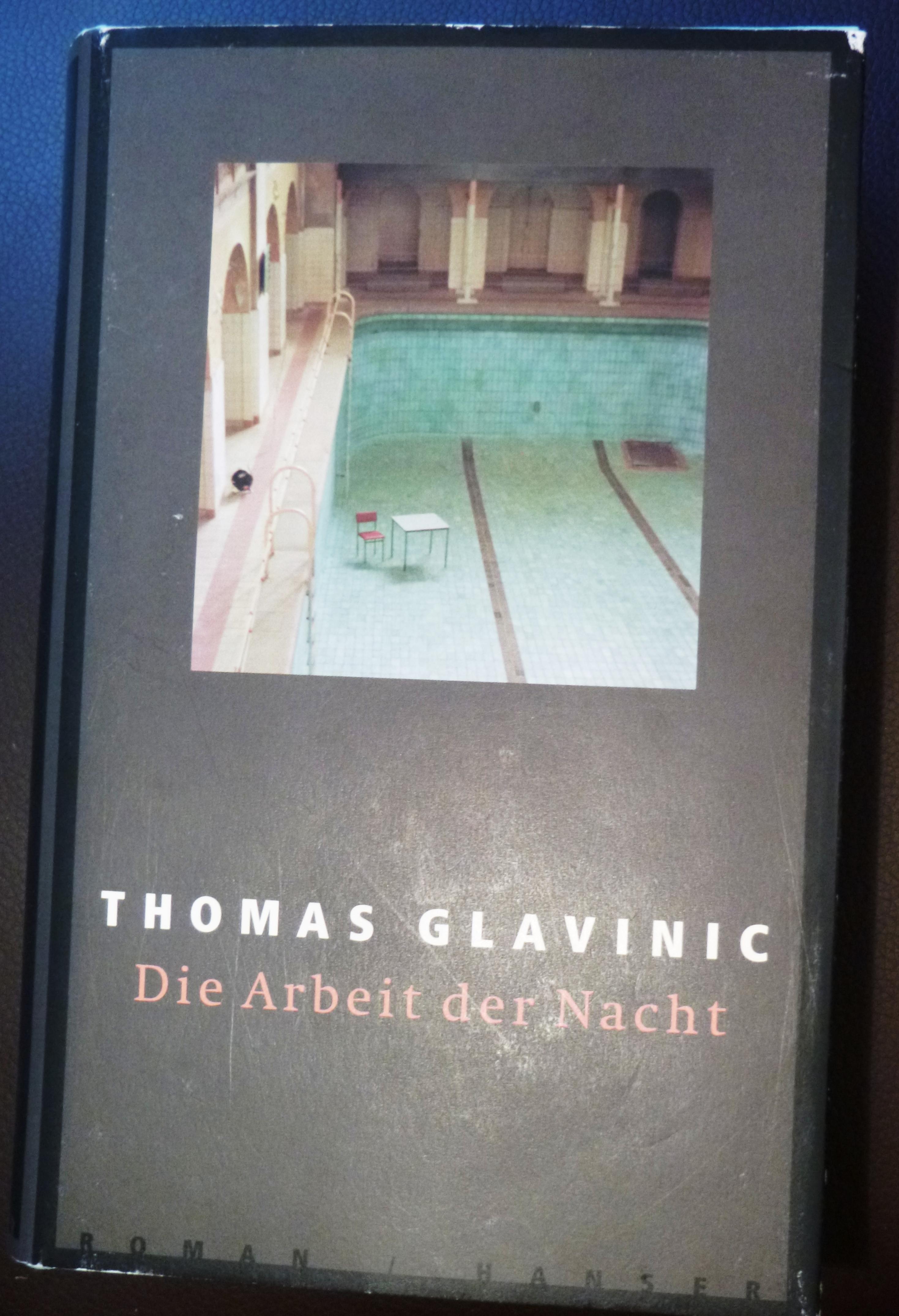 Die Arbeit der Nacht - Thomas Glavinic