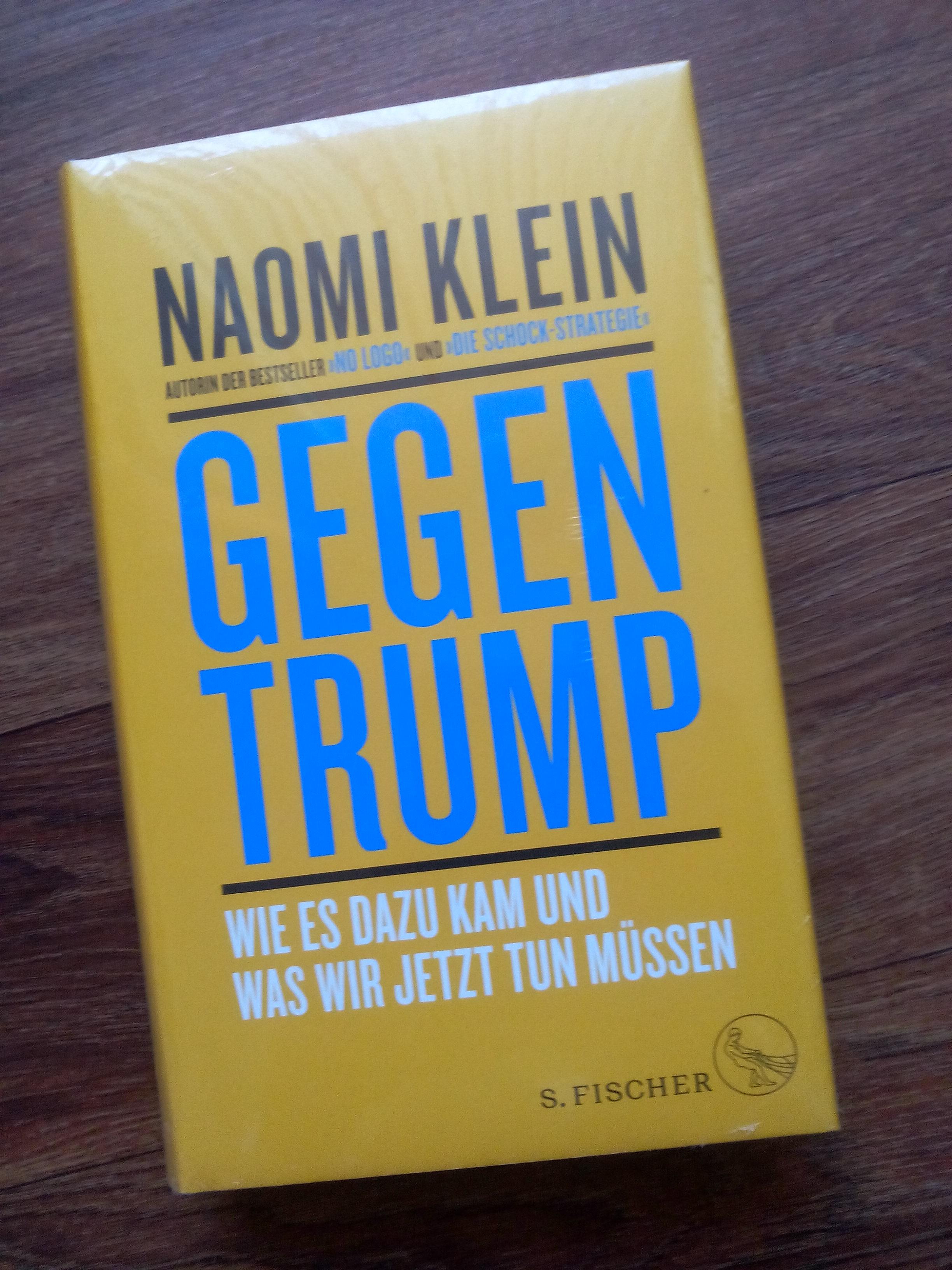 Gegen Trump - Noami Klein